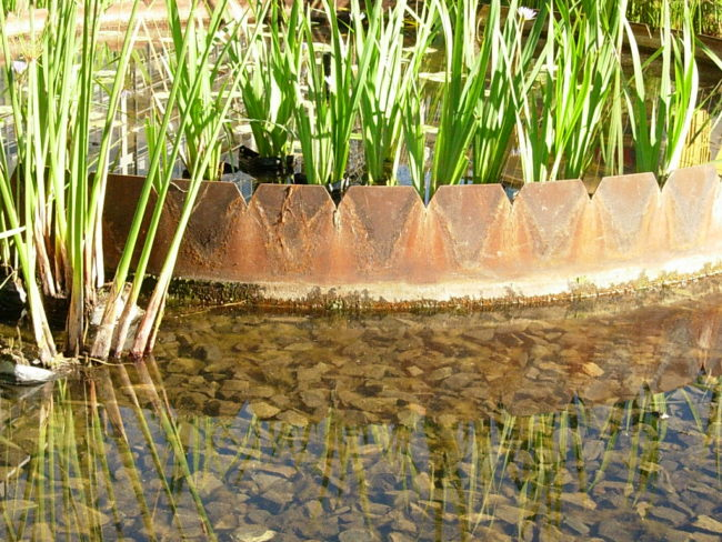 central water feature details